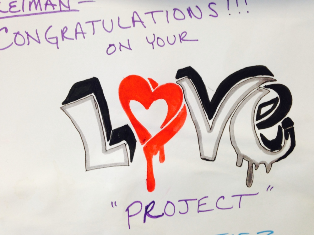 Congratulations on Your Love Project Mel's Love Land #next100 Melanie Lutz