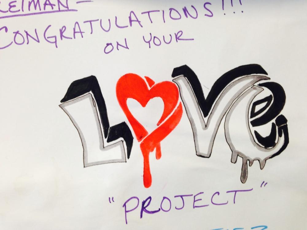 Congratulations on Your Love Project Mel's Love Land #next100 Melanie Lutz