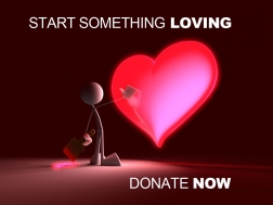 #MelsLoveLand Start Something Loving Donate Now Melanie Lutz
