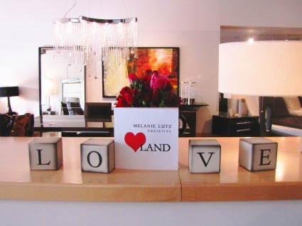 Melanie Lutz presents Love Land at Cantoni's -- web