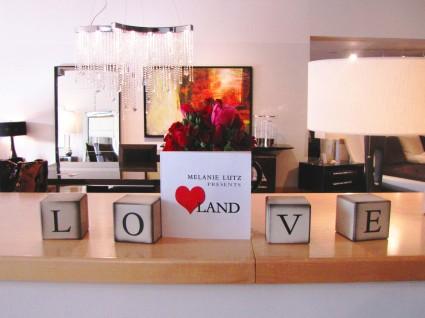 Melanie Lutz presents Love Land at Cantoni's -- web