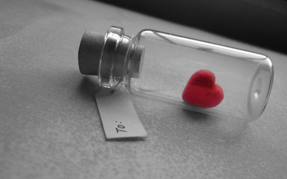 Heart-in-Bottle