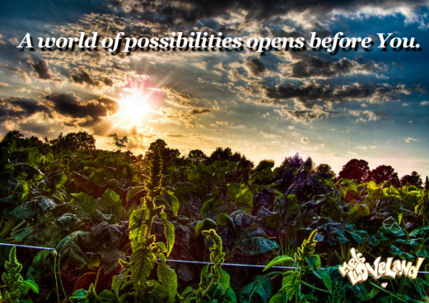 a world of possibility opens before you loveland