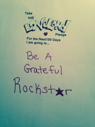 Mel Love Land pledge Conscious Rockstar kate neligan