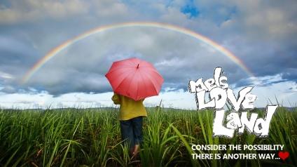Mel's Love Land Melanie Lutz Rainbow
