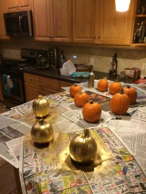 Gold Pumpkins mels love land