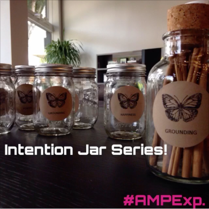 Melanie Lutz AMP EXPERIENCE INTENTION JAR SERIES