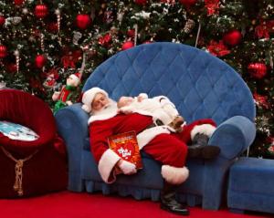 Twelfth Day of Mels Love Land Sleeping Santa Mels Love Land