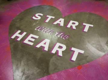 Start with the Heart Mels Love Land #zebrackdesignlab