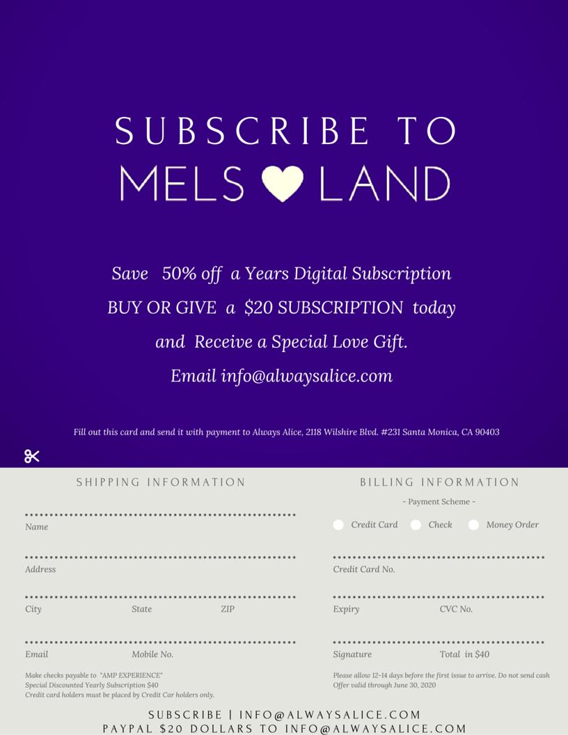 12-Mels Love Land Issue 6 | Balance-Melanie Lutz