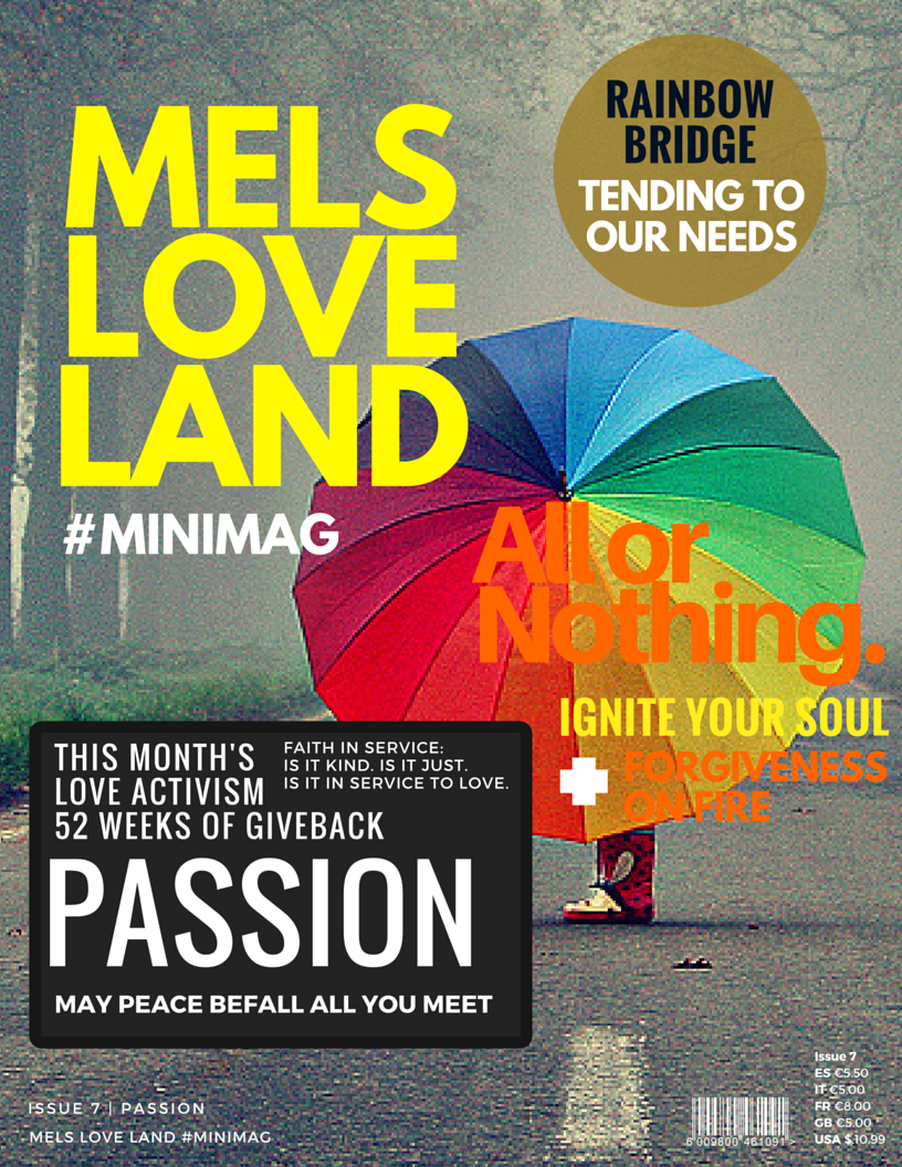 1 Melanie Lutz MELS LOVE LAND ISSUE 7 | PASSION Cover