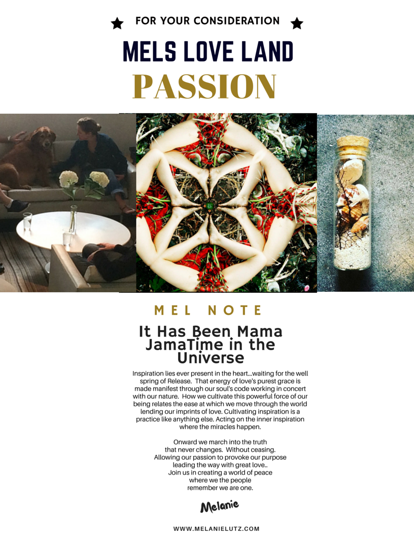 2 Melanie Lutz MELS LOVE LAND ISSUE 7   PASSION For Your Consideration