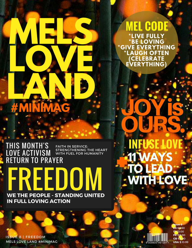 1 MELS LOVE LAND ISSUE 8 | FREEDOM