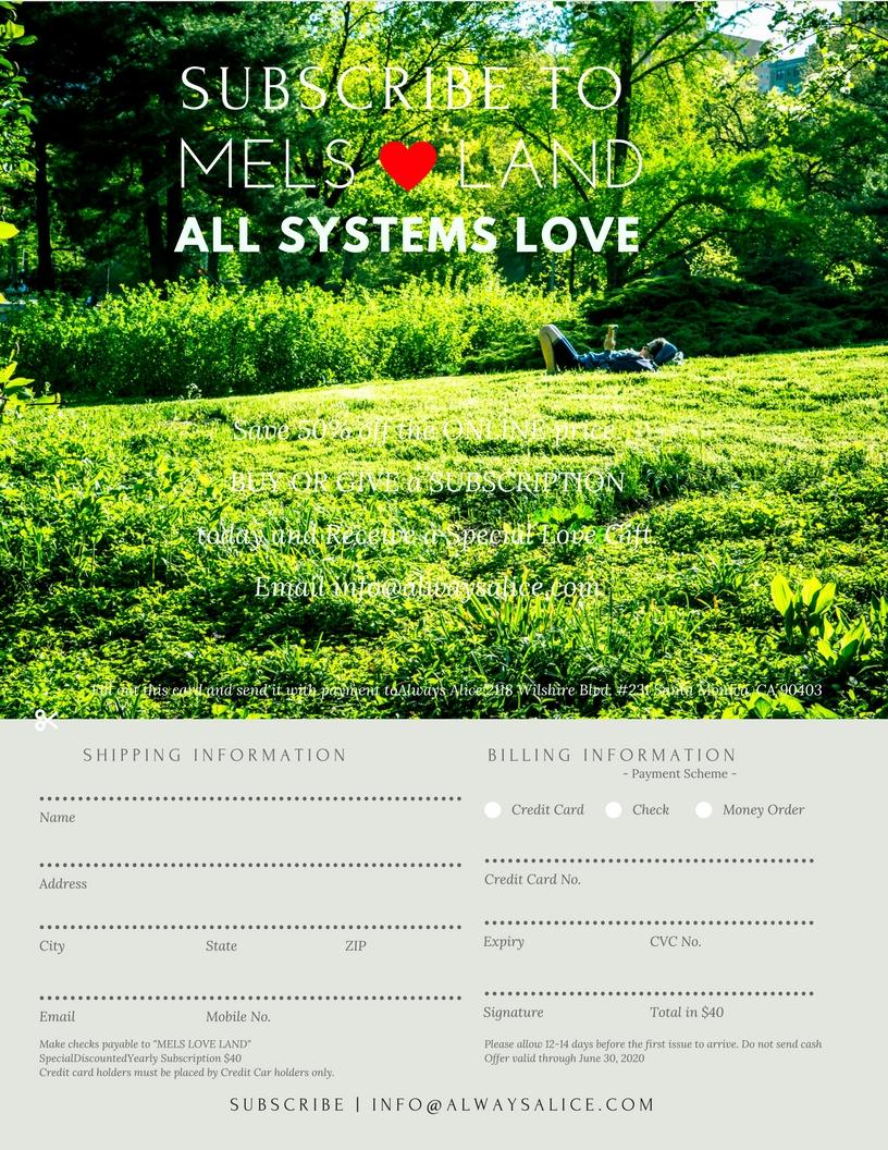 23 Mels Love Land #MiniMag Issue 11 | Adventure Melanie Lutz