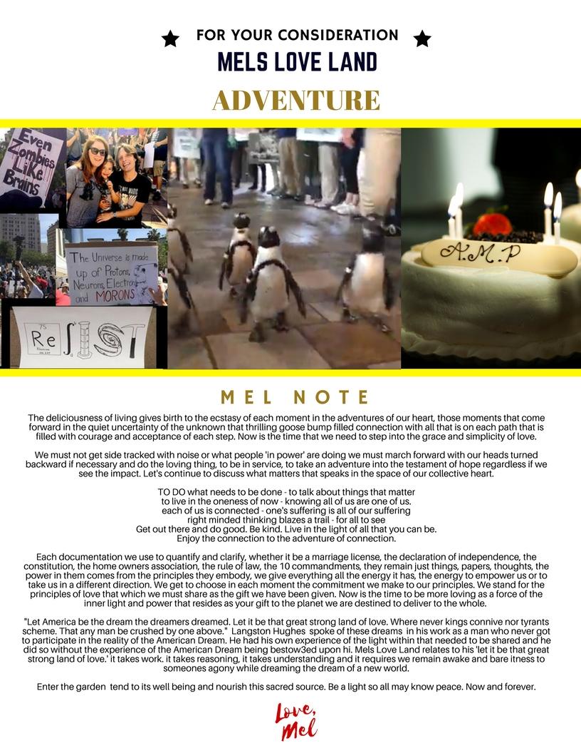 4 Mels Love Land #MiniMag Issue 11 | Adventure Melanie Lutz