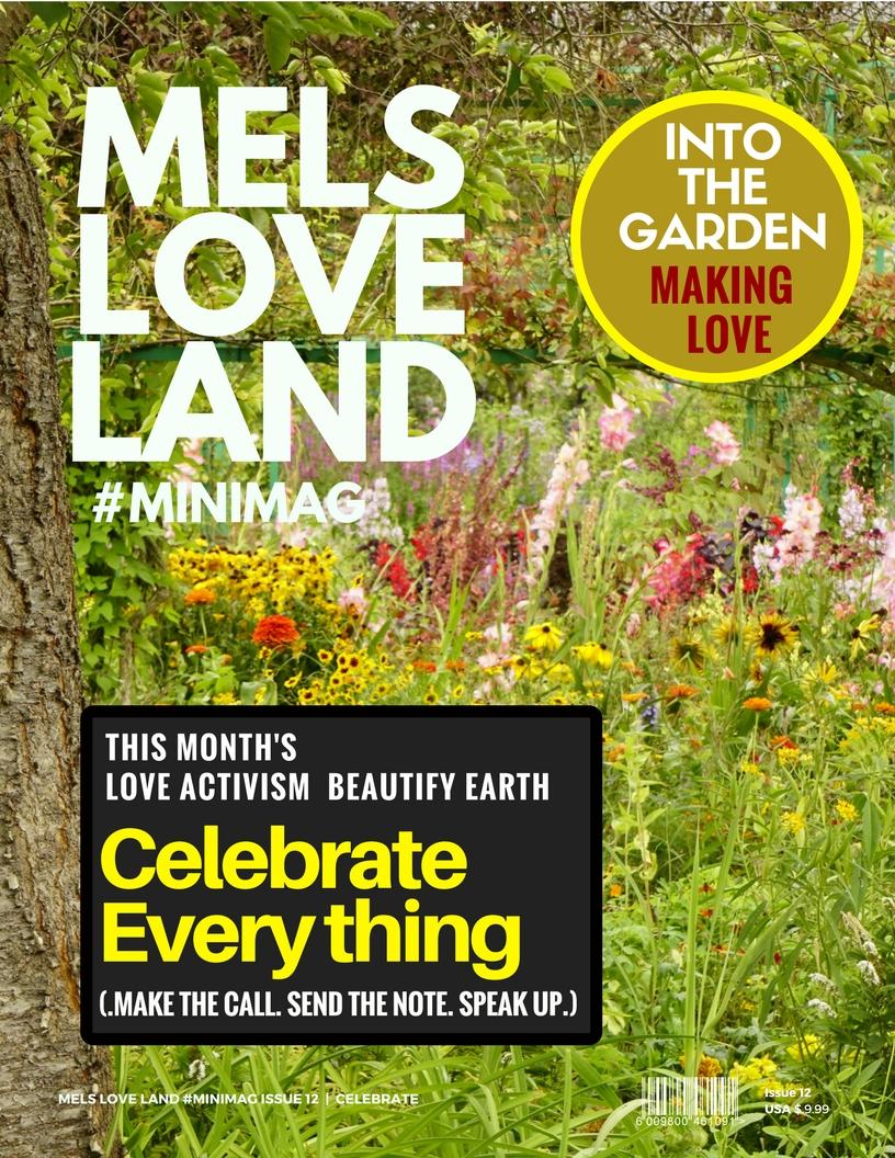 1 Mels Love Land MiniMag Issue 12 | Celebration
