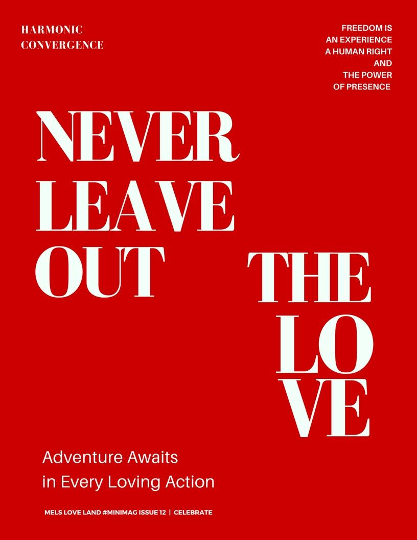 21 Mels Love Land MiniMag Issue 12 | Celebration