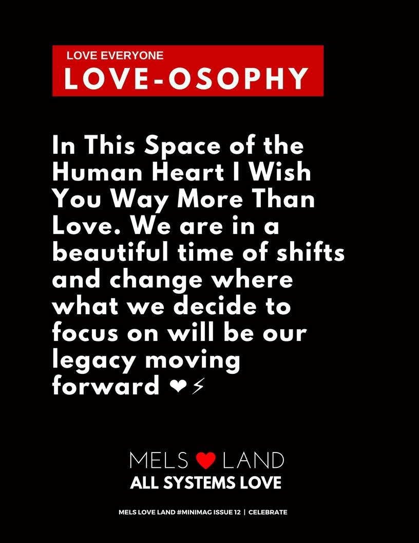 23 Mels Love Land MiniMag Issue 12 | Celebration
