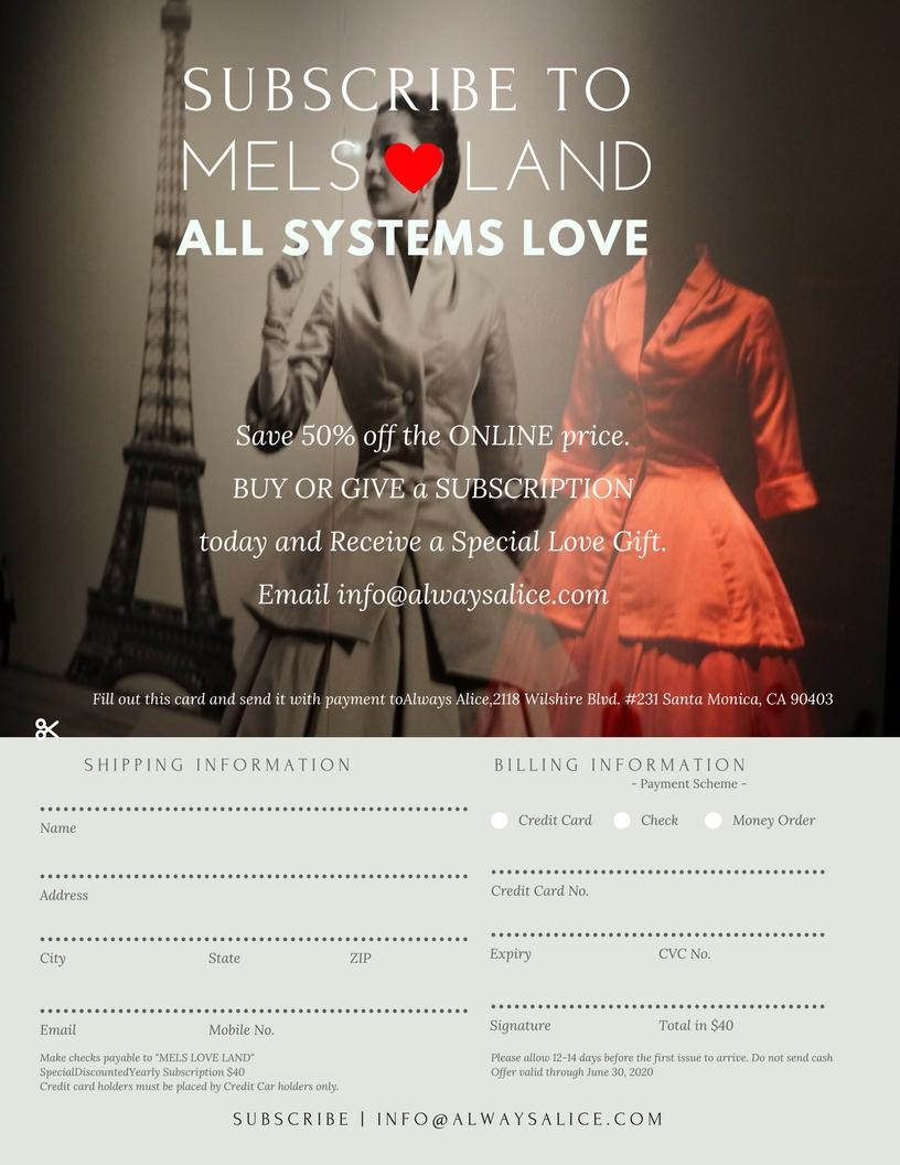 28 Mels Love Land MiniMag Issue 12 | Celebration