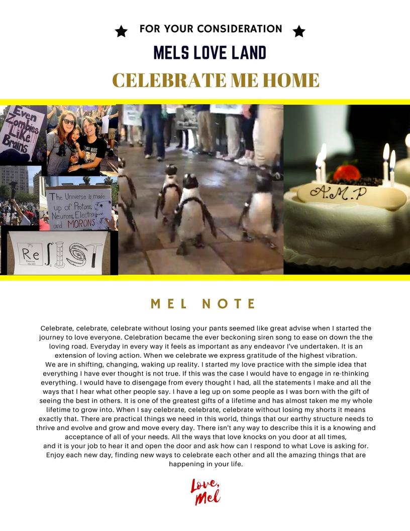 3 Mels Love Land MiniMag Issue 12 | Celebration