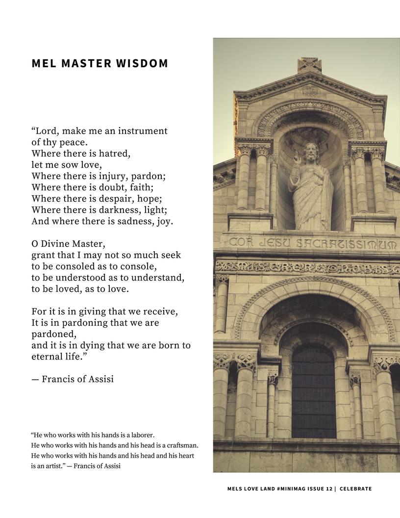 8 Mels Love Land MiniMag Issue 12 | Celebration