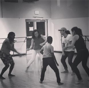 Shamell Bell dance class Love Activism All Systems Love